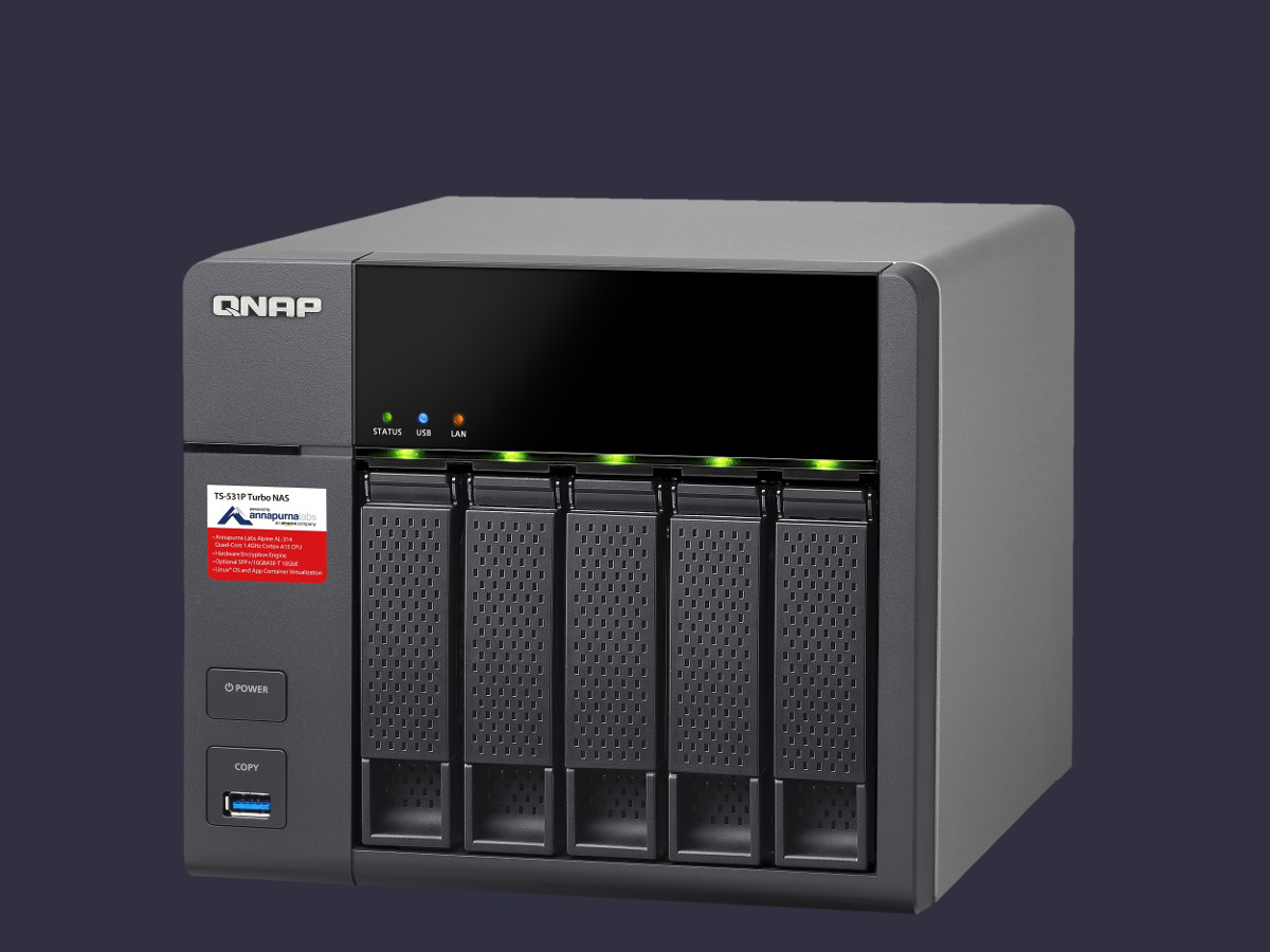 QNAP 5 Bay Netowork Storage