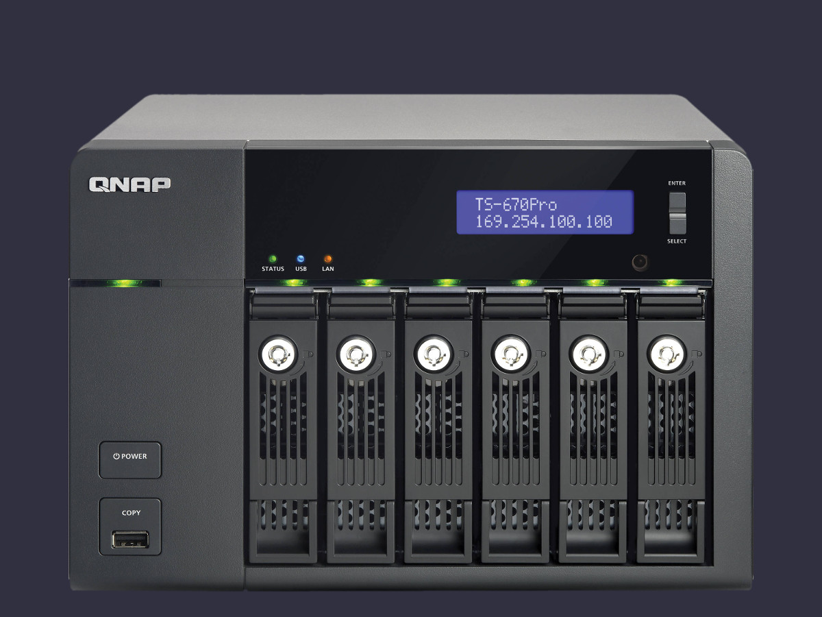 QNAP 6 Bay Network Storage