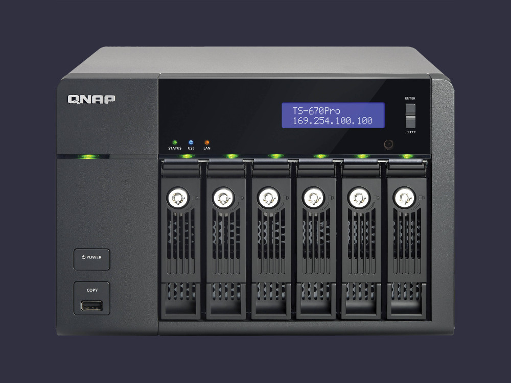 Network File Server - QNAP Storage